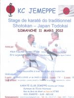 Stage de karaté do traditionnel Shotokan