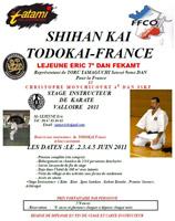 ShihanKai Todokai 2011 Valloire FRANCE