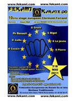 10e Stage européen Clermont-Ferrand FEKAMT
