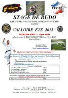 Stage de budo - Valloire ETE 2012