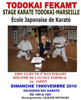 Stage de Marseille - Novembre 2010