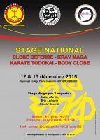 Stage national 12 et 13 décembre 2015