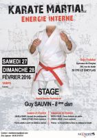 Stage avec Guy Sauvin - Karate Martial
