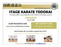 Stage - Tournée Canadienne Printemps 2015 - Longueuil