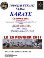 Todokai FEKAMT - Stage karate