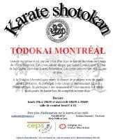 Un nouveau dojo Todokai ouvre ses portes