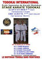 Tournee France Todokai 2012