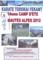 14e Camp d'ete Haute Alpes 2012