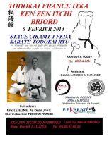 Stage Briord 6 février 2014